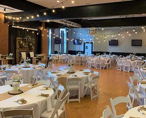 suite six venue in canton setup
